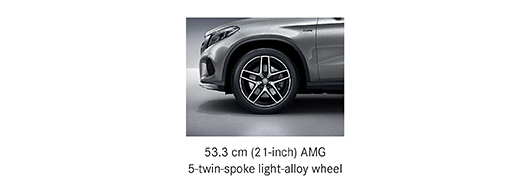 Alloy options for Mercedes AMG GLE 43 4MATIC Coupe