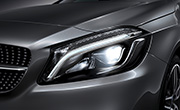 Mercedes A class specs - LED High Performance Headlamps