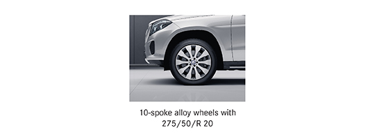 Alloy options for Mercedes GLS