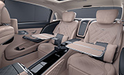 Mercedes S Maybach features - Rear seat comfort package