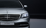 Mercedes S class features - Multibeam LED